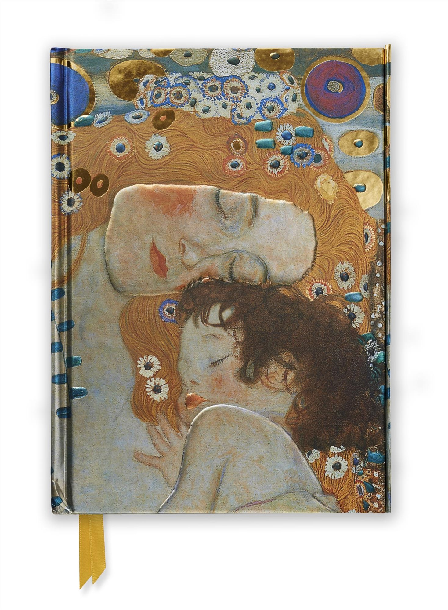 Foiled Journal #04: Klimt Mother and Child/Three Ages of Woman