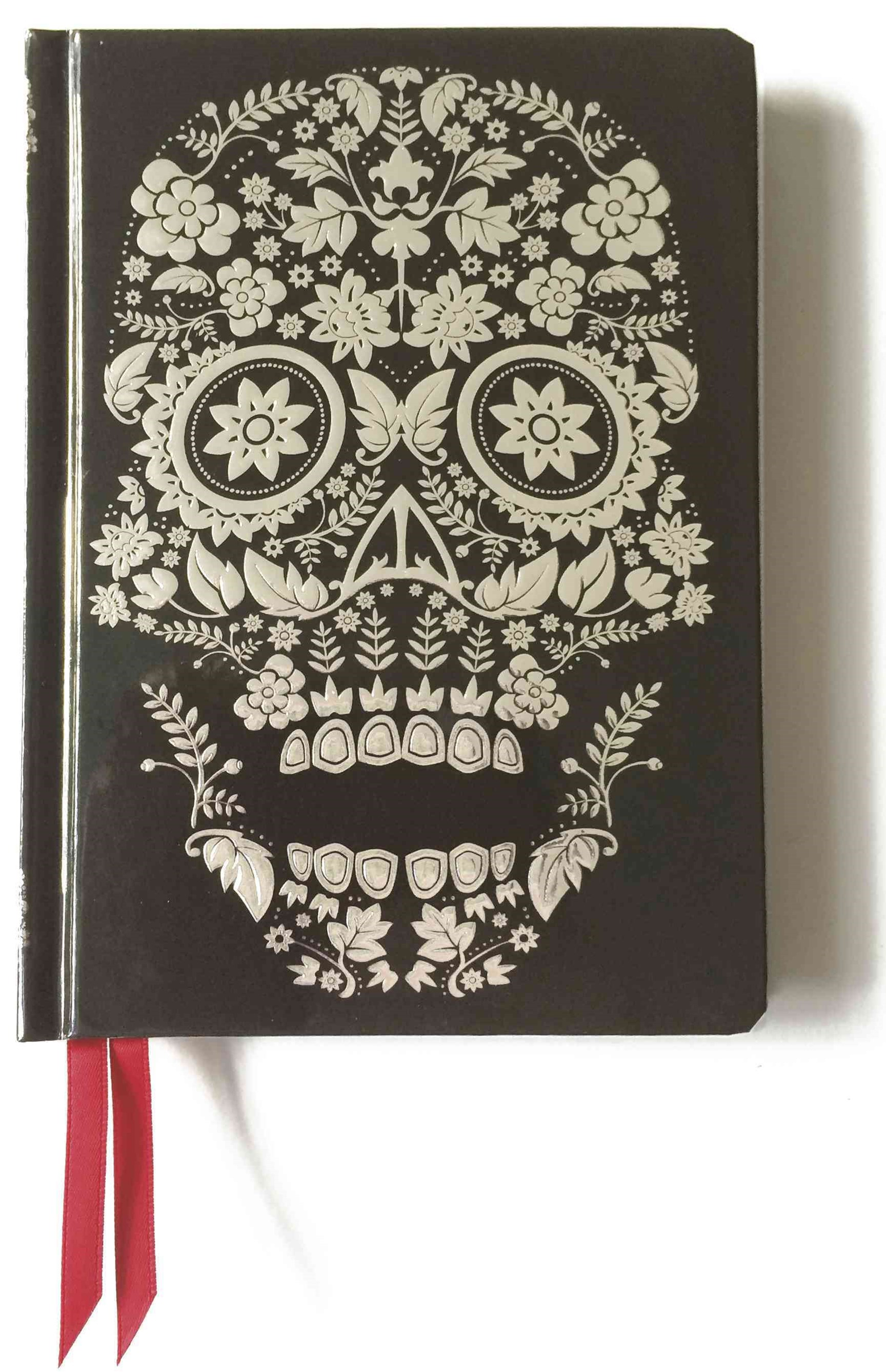 Contemporary Journal: Flower Skull