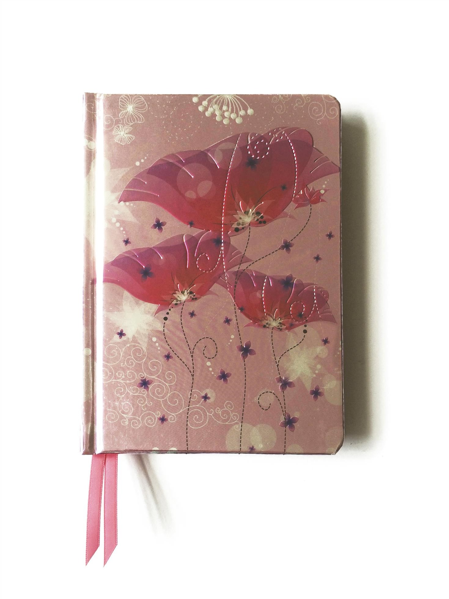 Contemporary Journal: Pink Lillies