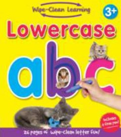 Wipe Clean Learning - Lowercase Abc