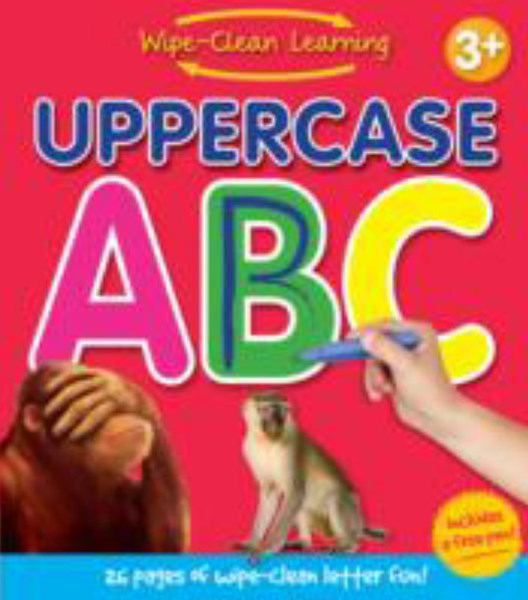 Wipe Clean Learning - Uppercase ABC