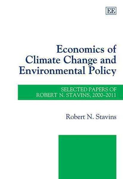 Economics of Climate Change and Environmental Policy