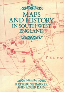 Map Of The South West Of England.Dymocks Maps And History In South West England 9780859893732