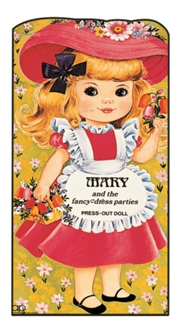 Mary and the Fancy-dress Parties: Giant Doll Dressing Books