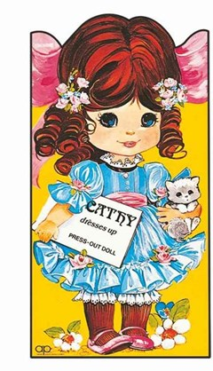 Cathy Dresses Up: Giant Doll Dressing Books