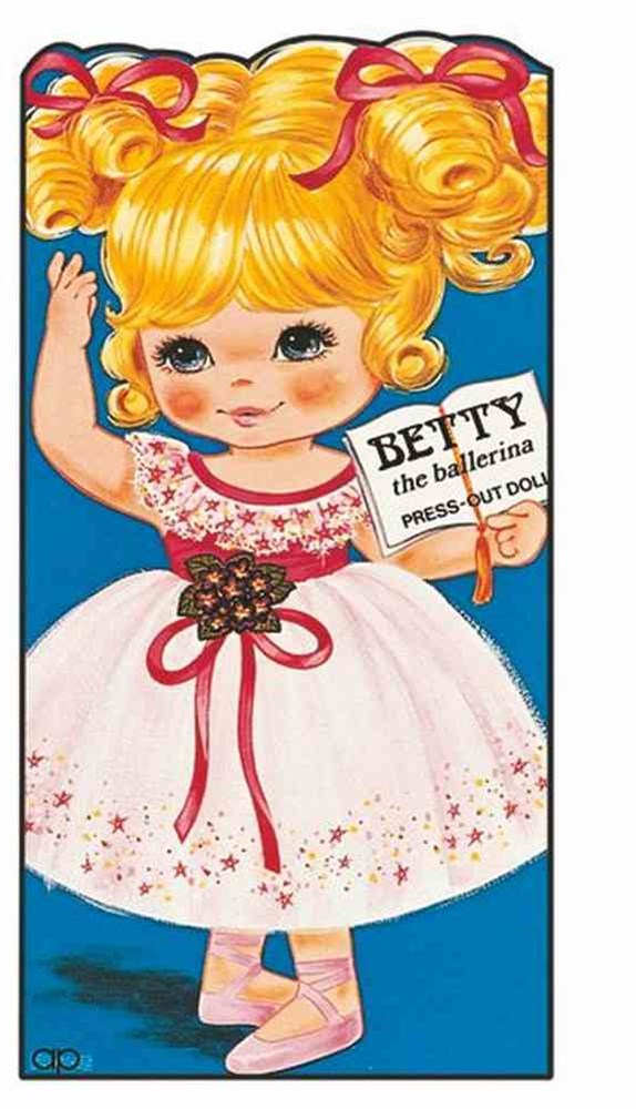 Betty: the Ballerina: Giant Doll Dressing Books