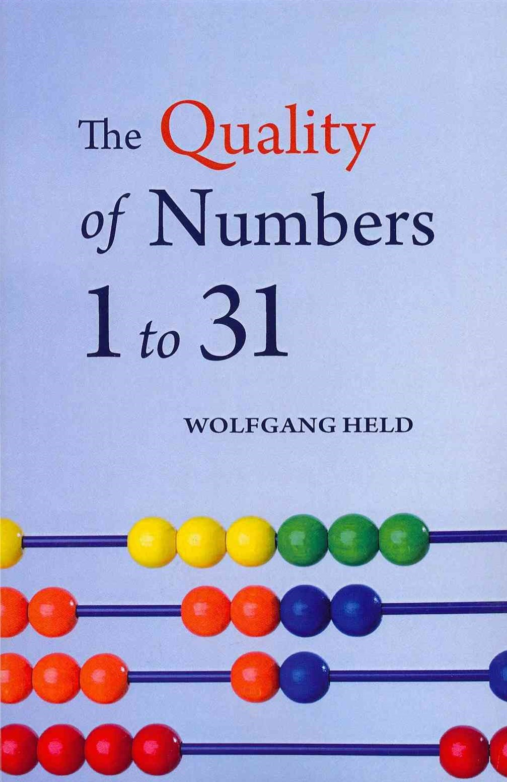 Quality of Numbers One to Thirty-one