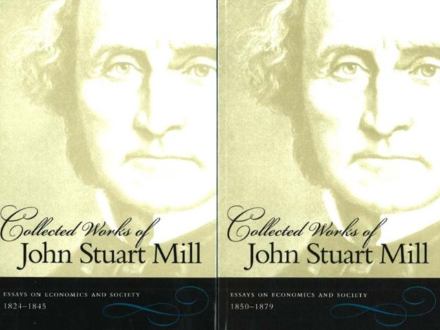 Collected Works of John Stuart Mill, Volumes 4 & 5