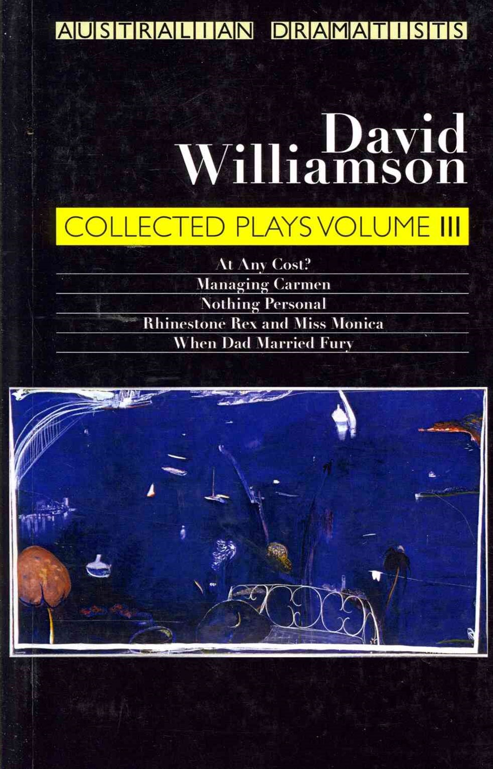 David Williamson Collected Plays Vol. 3