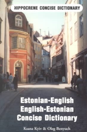 Estonian-English, English-Estonian Dictionary