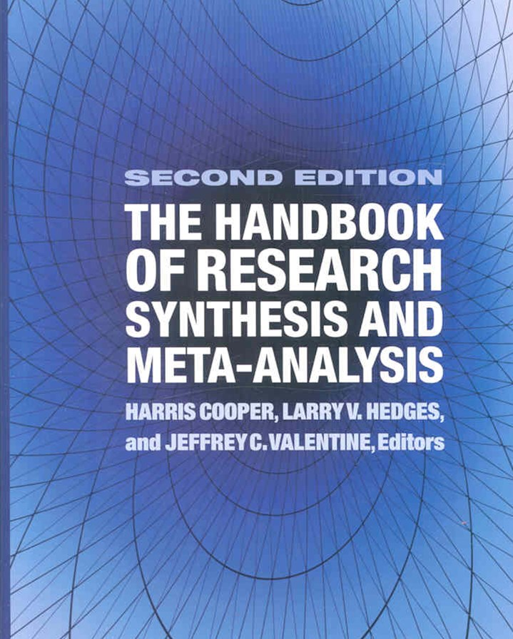 Handbook of Res Synthesis 2 Ed