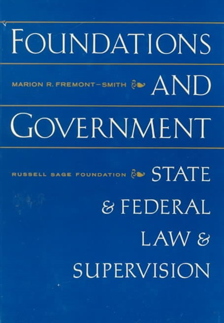 Foundations and Government