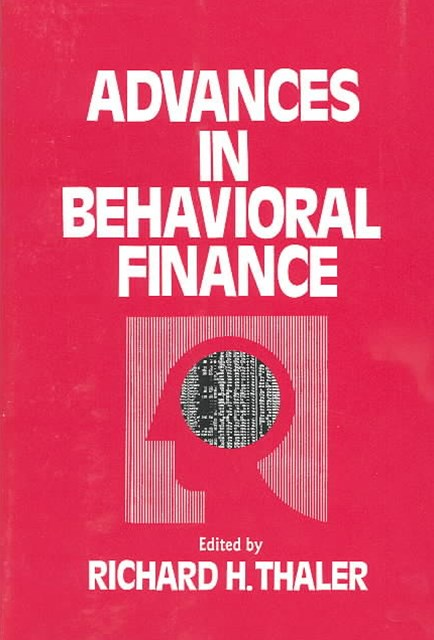 Advances in Behavioral Finance