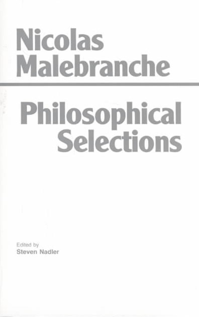 Malebranche: Philosophical Selections