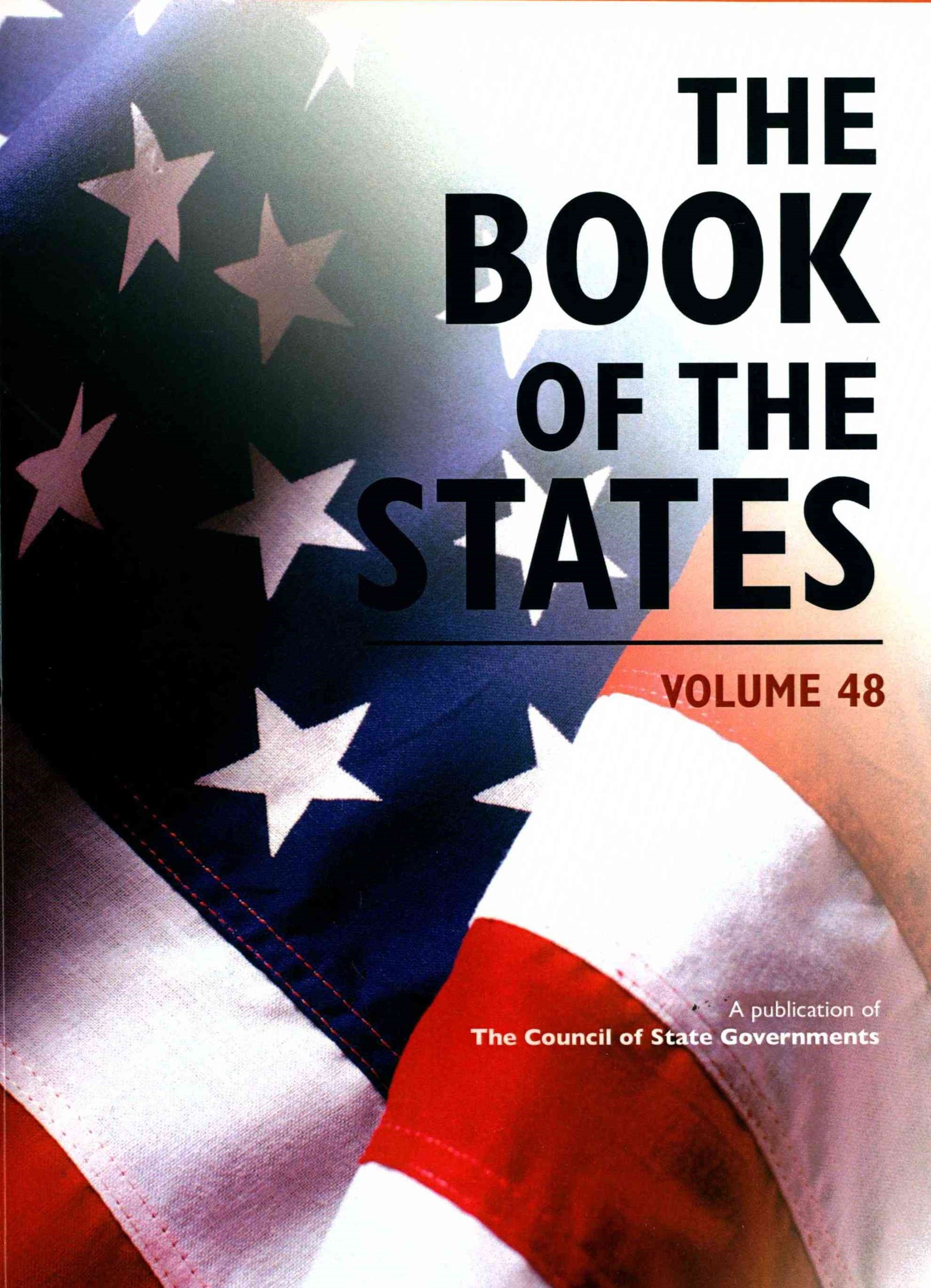 The Book of the States 2016