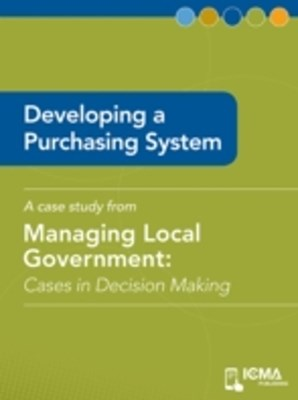 Developing a Purchasing System