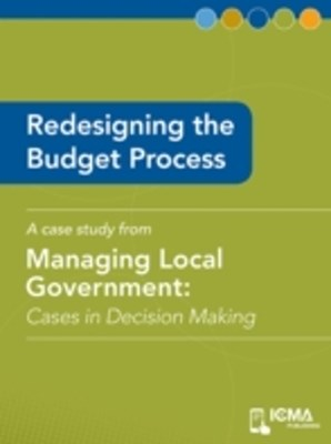 Redesigning the Budget Process