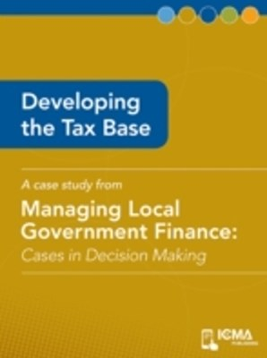 Developing the Tax Base