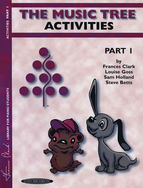 The Music Tree Activities Book