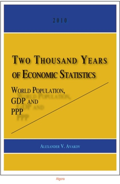 Two Thousand Years of Economic Statistics