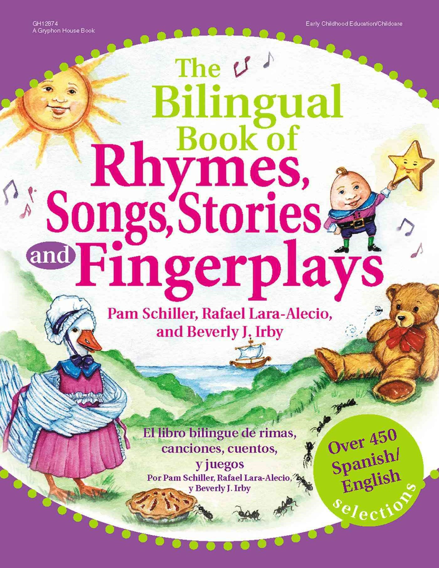 Bilingual Book of Rhymes, Songs, Stories, and Fingerplays