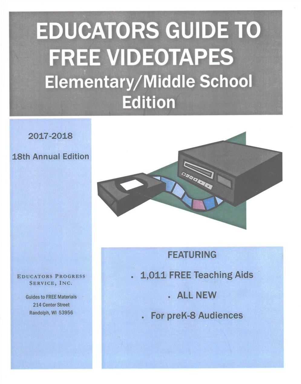 Educators Guide to Free Videos 2017-2018