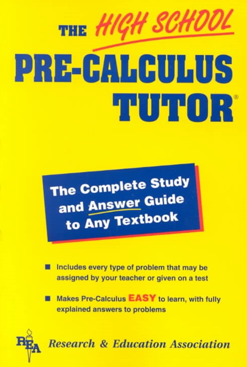 The High School Pre-Calculus Tutor-«
