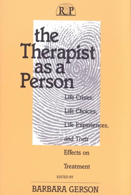 Therapist as a Person