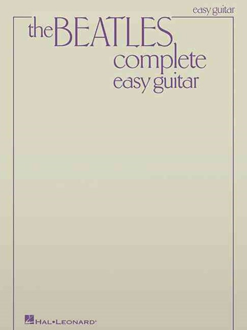 Beatles Complete (Easy Guitar)
