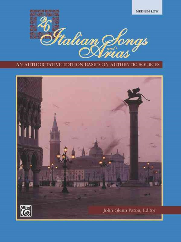 Twenty-Six Italian Songs and Arias, Medium Low