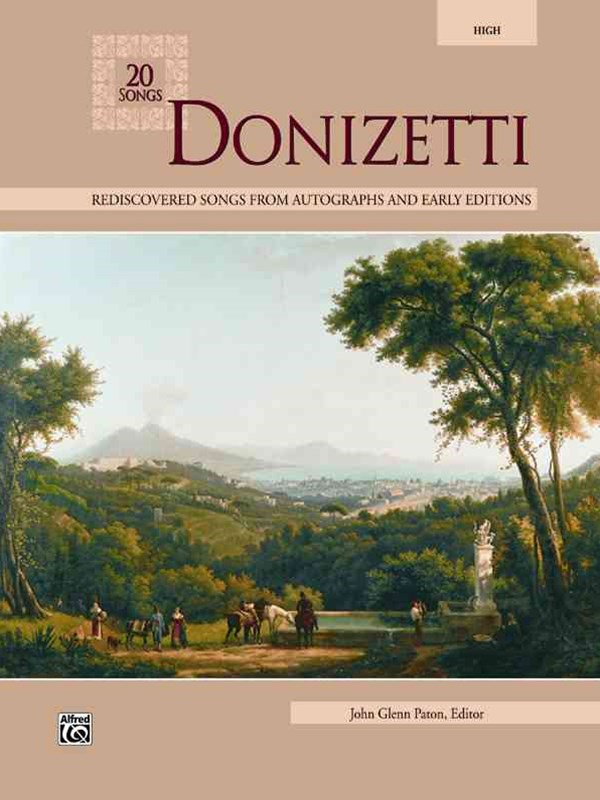 20 Songs by Donizetti, High Voice