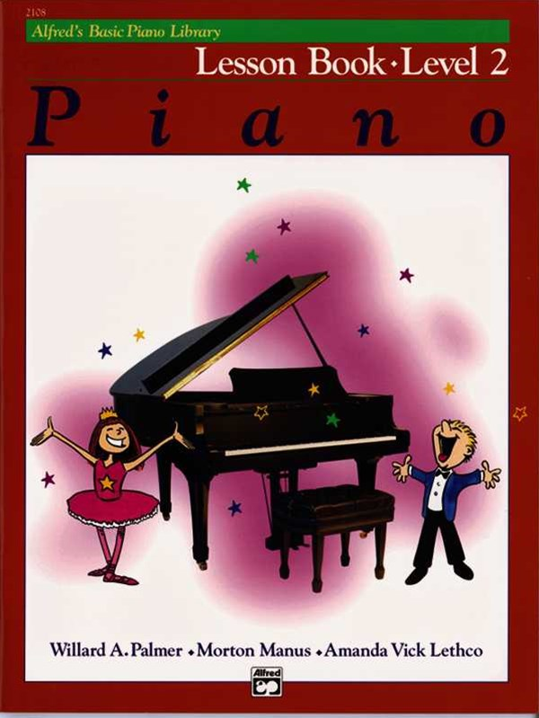 Alfred's Basic Piano Lesson Book, Level 2