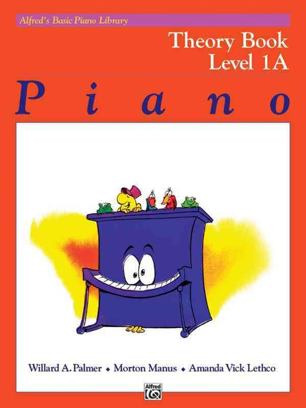 Alfred's Basic Piano Course Theory, Level 1A