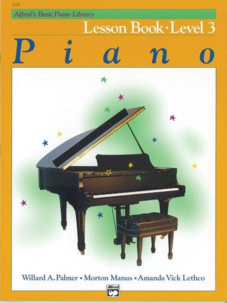 Alfred's Basic Piano Lesson Book, Level 13