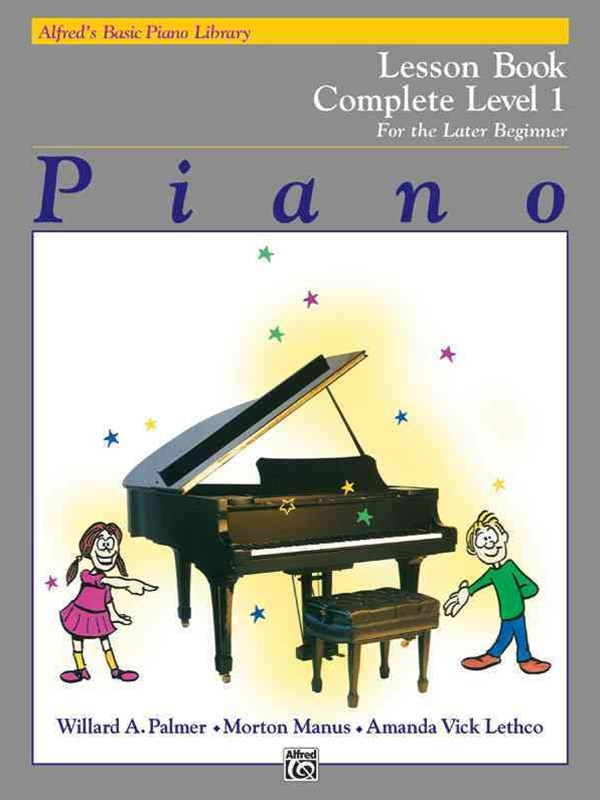 Alfred's Basic Piano Course Lesson Book