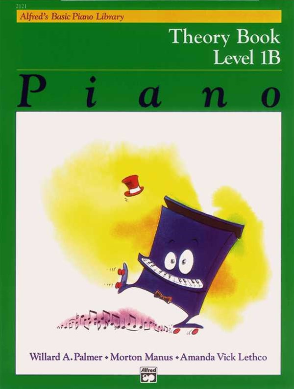 Alfred's Basic Piano Course, Theory Book, Level 1B