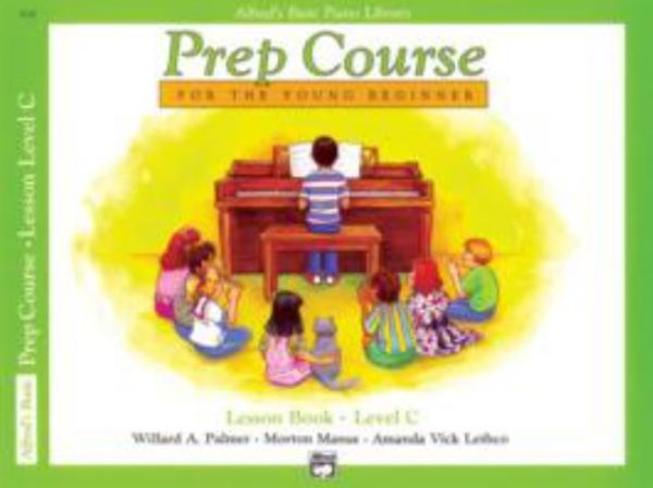 Alfred's Basic Piano Prep Course - Lesson Book, Level C