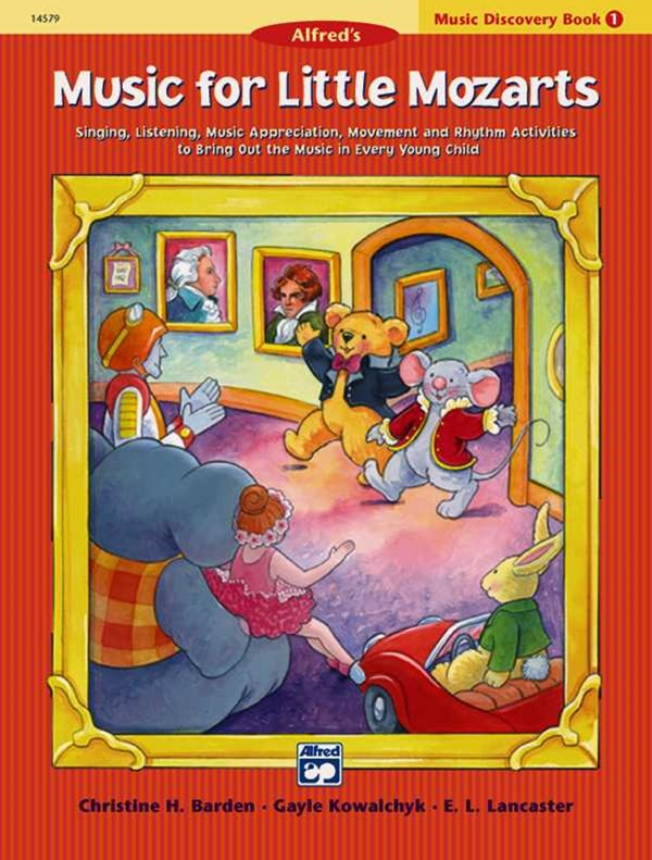 Music for Little Mozarts Music Discovery Book