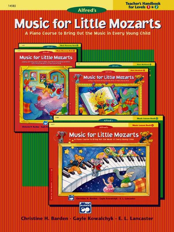 Music for Little Mozarts Teacher's Handbook