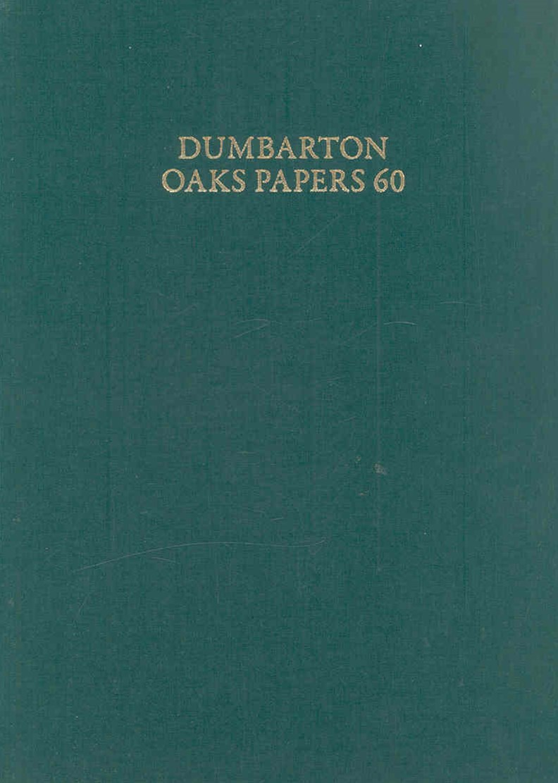Dumbarton Oaks Papers,60