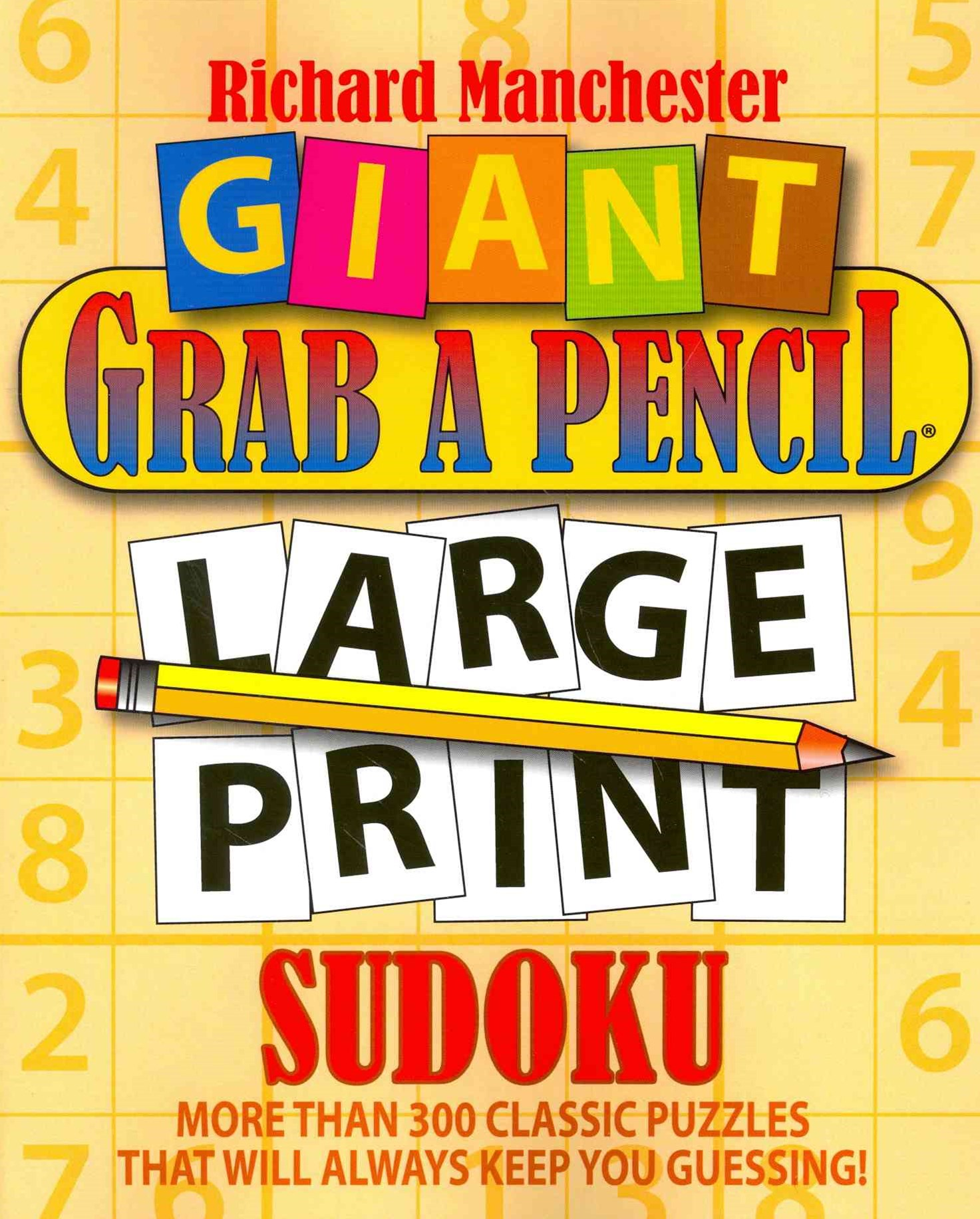 Giant Grab a Pencil-« Large Print Sudoku
