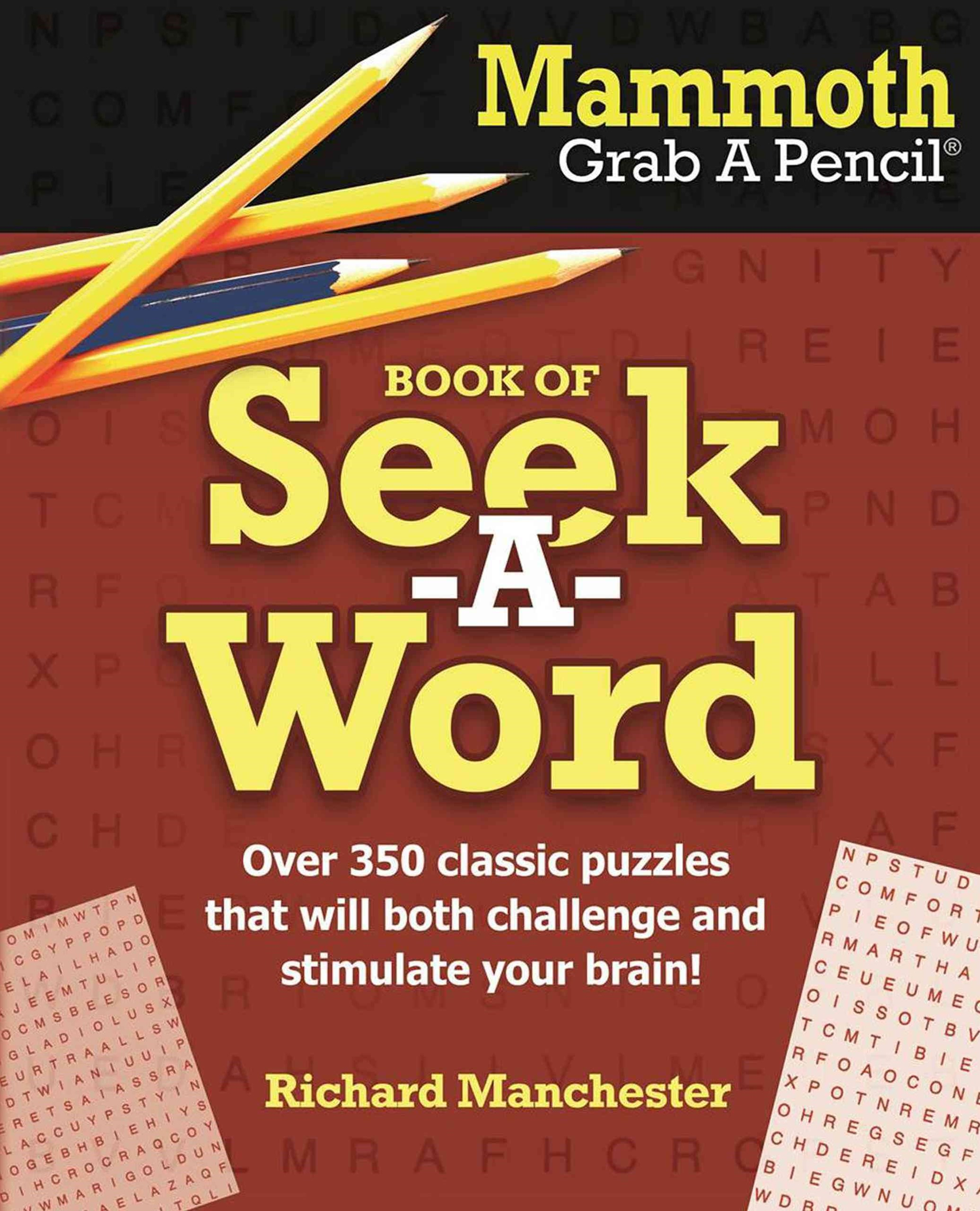 Mammoth Grab a Pencil Book of Seek-A-Word
