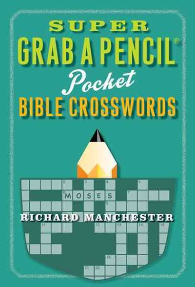 Super Grab a Pencil Pocket Bible Crosswords
