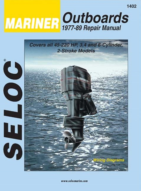 Mariner Outboards, 3, 4, and 6 Cylinders, 1977-1989