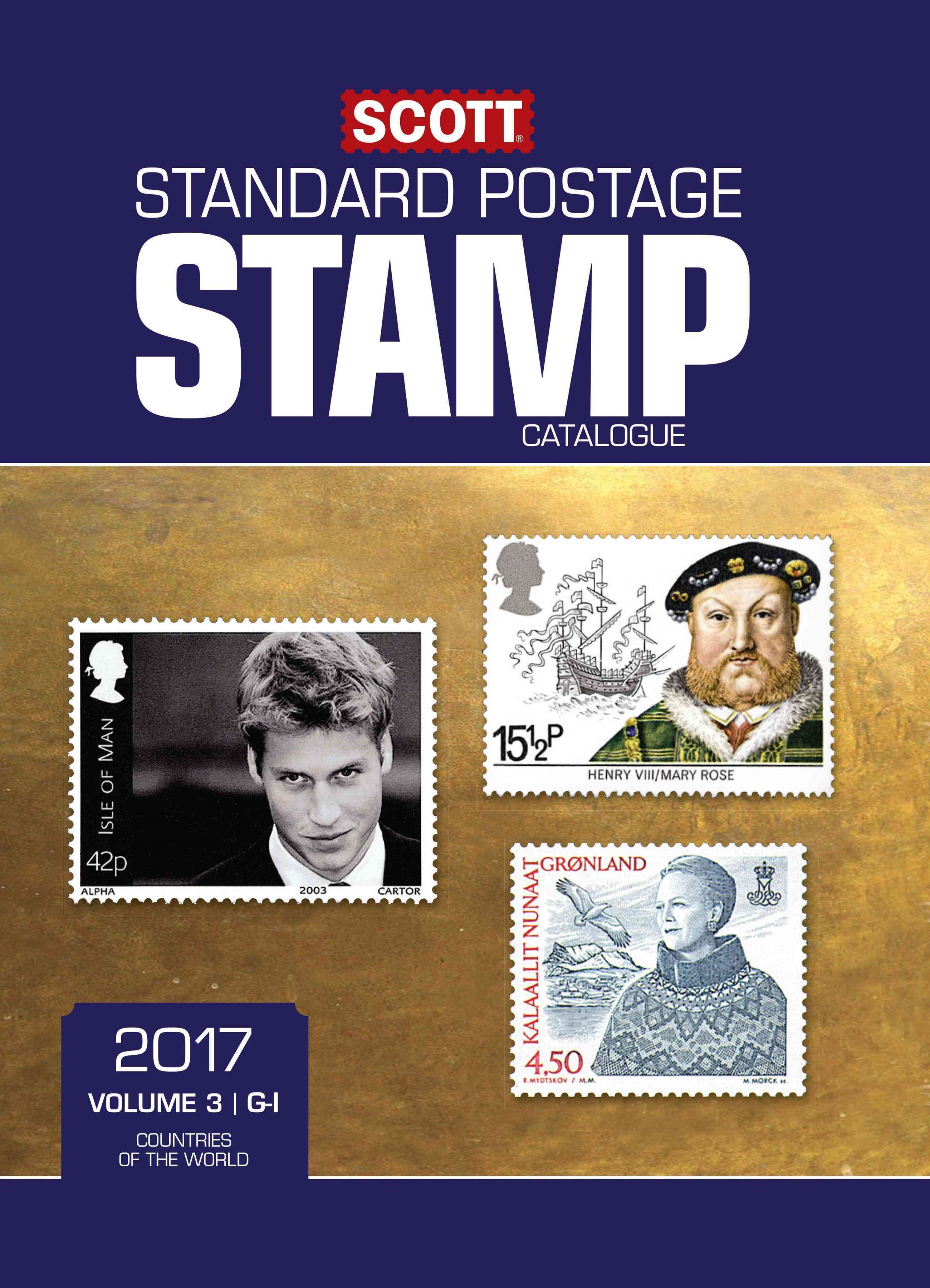 Scott 2017 Standard Postage Stamp Catalogue, Volume 3