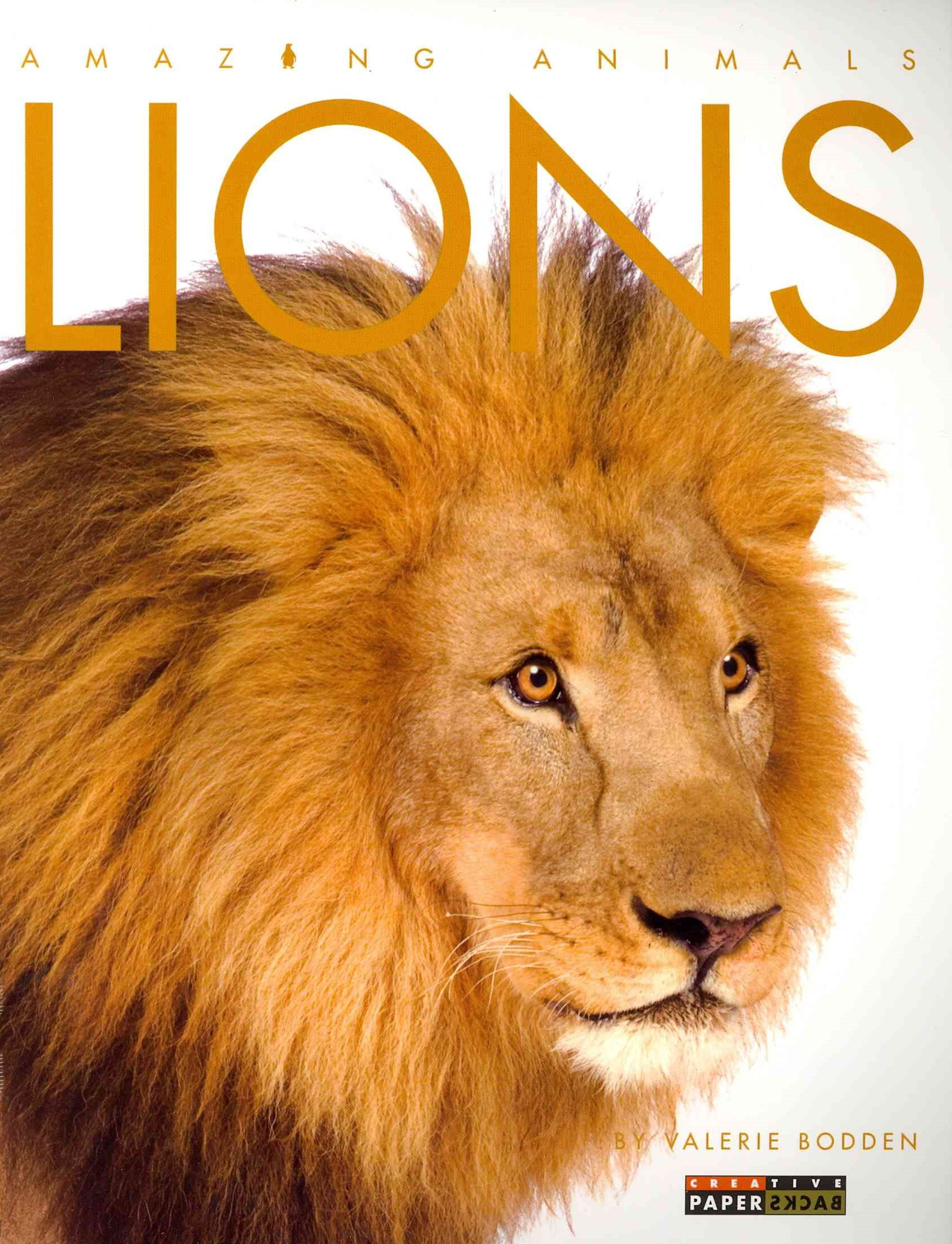 Amazing Animals: Lions