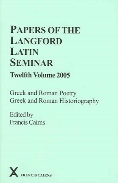 Papers of the Langford Latin Seminar 2005
