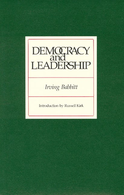 Democracy and Leadership