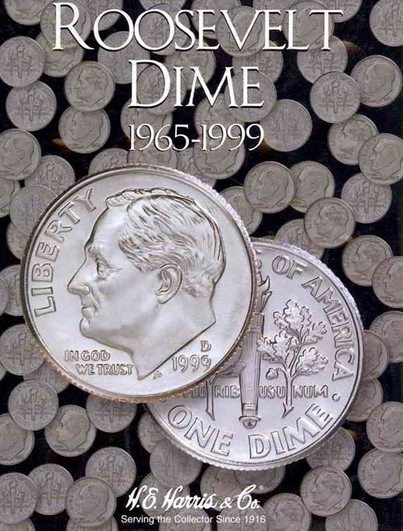 Whitman Roosevelt Dime Coin Folder