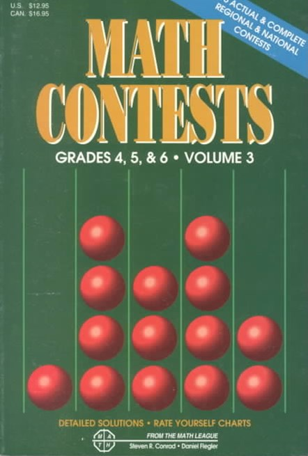 Math Contests - Grades 4, 5, and 6